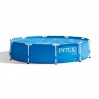 Piscina cu cadru metalic Intex 28202NP, rotunda, 305 x 76 cm