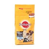 Hrana uscata pentru caini, Pedigree Vital Protection junior, carne de pui si orez, 2kg