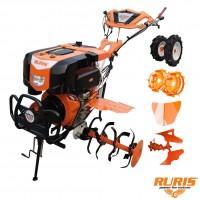 Motocultor diesel Ruris 1002 KSD, 10 CP, 3 viteze + accesorii