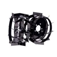 Roti metalice BK pentru motocultor / motosapa, D 40 cm (1 bucata = 1 set 2 roti)