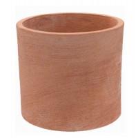 Ghiveci ceramic Cilindro Moderne, teracota, rotund, 30 x 30 cm
