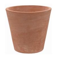 Ghiveci ceramic Conico Moderne, teracota, rotund, 30 x 30 cm