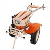 Motocultor pe benzina O-Mac 1350-S, 13 CP, 3 viteze + roti si diferential + plug reglabil