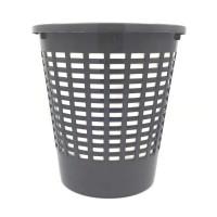 Cos gunoi birou Venetia 95006, polipropilena, forma cilindrica, gri, 10 L