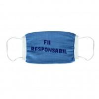 Masca pentru protectie igienica Valyrom, bumbac, diverse culori, 10 buc / set