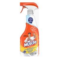 Detergent dezinfectant cu pulverizator Mr. Muscle Bucatarie Citrice, 500 ml
