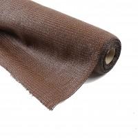 Plasa umbrire Extranet, HDPE, protectie UV, maro, grad umbrire 85%, 2 x 10 m