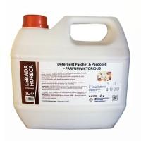 Detergent pentru parchet si pardoseli Casa Lebada, parfum victorious, 3 L