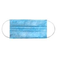 Masca pentru protectie Vicmod, de unica folosinta, polipropilena, 3 straturi, bleu