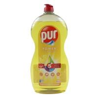 Detergent lichid pentru vase Pur Power Lemon, aroma lamaie, 1.2 L