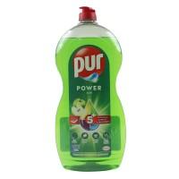 Detergent lichid pentru vase Pur Power Apple, aroma mar, 1.2 L