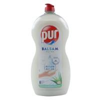 Detergent lichid pentru vase Pur Balsam, aroma aloe vera, 1.2 L