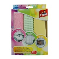 Lavete uz general Fino 4371, microfibra, set 3 buc