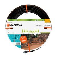 Furtun cu duze,pentru irigatii prin picurare Gardena MI, D 13.7 mm, 50 m