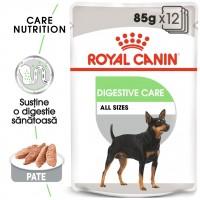 Hrana umeda caine Royal Canin Digestive Care Adult, confort digestiv, pate, 85 g
