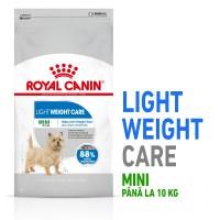 Hrana uscata pentru caini, Royal Canin, Light Weight Care Mini, adult, 1kg