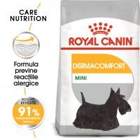 Hrana uscata pentru caini, Royal Canin, Dermacomfort Mini, adult, 1kg