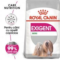 Hrana uscata caine adult Royal Canin Mini Exigent, apetit capricios, 3 kg
