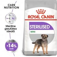 Hrana uscata caine Royal Canin Mini Sterilised Adult, sterilizat, 8 kg