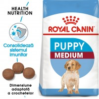Hrana uscata caine junior Royal Canin Medium Puppy, 1 kg