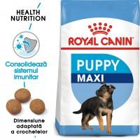 Hrana uscata caine junior Royal Canin Maxi Puppy, 15 kg
