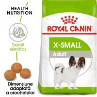 Hrana uscata caine adult Royal Canin X-Small Adult, 1.5 kg