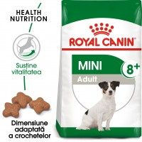 Hrana uscata pentru caini, Royal Canin, Mini 8+, adult, 2kg