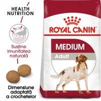Hrana uscata pentru caini, Royal Canin, Medium, adult, 15kg