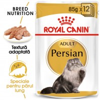 Hrana umeda pentru pisici, Royal Canin, Persian, adult, 12 x 85g