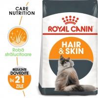 Hrana uscata pentru pisici, Royal Canin, Hair Skin Care, adult, 2kg
