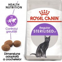 Hrana uscata pentru pisici, Royal Canin, Sterilised 37, adult, 2kg