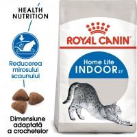 Hrana uscata pentru pisici, Royal Canin, Indoor 27, adult, 400g