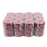 Hartie igienica Papely, roz, 2 straturi, 50 m, 24 buc / set