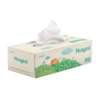 Servetele fine Mototol, celuloza, alb, 3 straturi, 21 x 20.5 cm, 90 buc / cutie