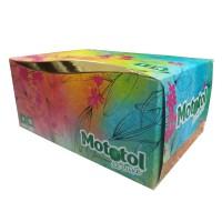 Servetele Mototol De Luxe, celuloza, alb, 4 straturi, 21 x 16.4 cm, 70 buc / cutie
