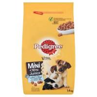 Hrana uscata Pedigree Mini Junior, junior, carne de pui, 1.4kg
