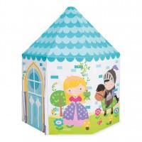 Casuta copii Princess Play Intex 44635NP, din plastic , 104 x 104 x 130 cm
