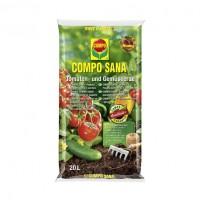 Pamant pentru tomate / legume Compo Sana, 20 l