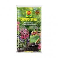 Pamant pentru plante mediteraneene Compo Sana, 20 l