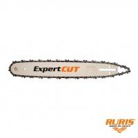 Sina de ghidaj + lant pentru drujba / motofierastrau Ruris Expert, 40 cm, 28+1 D, 3/8, 1.3 mm
