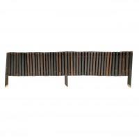 Gardut bambus smoked, 30 x 200 cm