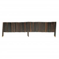 Gardut bambus smoked, 30 x 160 cm
