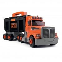 Jucarie creativa, pentru copii, Black&Decker, camion + 60 accesorii