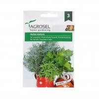 Seminte plante aromatice Agrosel, mix cimbru, marar, telina