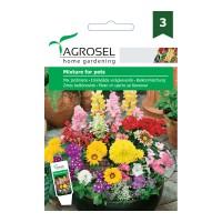 Seminte flori Agrosel, mix pentru jardiniere