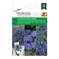 Seminte flori Agrosel, mix anuale albastre