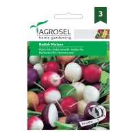 Seminte legume Agrosel, ridichi French Cherry Icicle