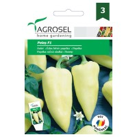 Seminte legume Agrosel, ardei lung Peles F1