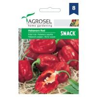 Seminte legume Agrosel, ardei iute Habanero red