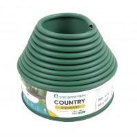 Separator gazon Country, plastic, verde, 10 cm x 6 m